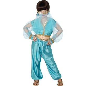 Kostýmy - Dětský kostým Arabská princezna