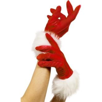 Karnevalové doplňky - Vánoční rukavice