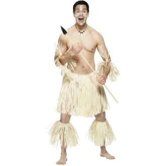 Historické kostýmy - Kostým Pralesní bojovník