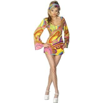Hippie - Kostým Sexy 60. léta-hippie