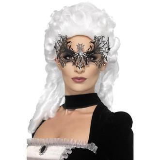 Masky - Škraboška Černá vdova pavučina