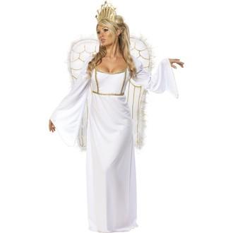 Mikuláš - Čert - Anděl - Kostým Anděl s velkými křídly