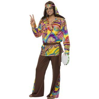 Hippie - Kostým Hippiesák ll