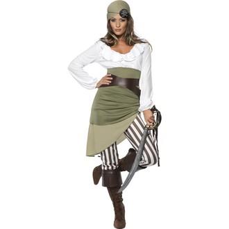 Piráti - Kostým Pirátka