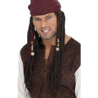 Paruky - Paruka kapitán Pirát