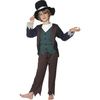 Kostýmy - Dětský kostým Viktoriánský chudý chlapec