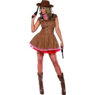 Kovbojové-divoký západ - Kostým Sexy kovbojka