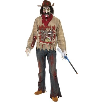 Halloween, strašidelné kostýmy - Kostým Zombie kovboj