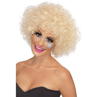 Paruky - Paruka Funky Afro blond