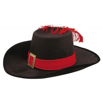 Historické kostýmy - Dětský klobouk Mušketýr