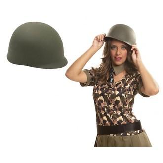 Klobouky-čepice-čelenky - Klobouk Vojenská helma