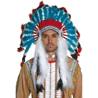 Indiáni - Indiánská čelenka Náčelník