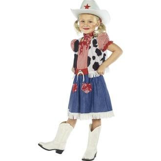 Kovbojové-divoký západ - Dětský kostým kovbojky