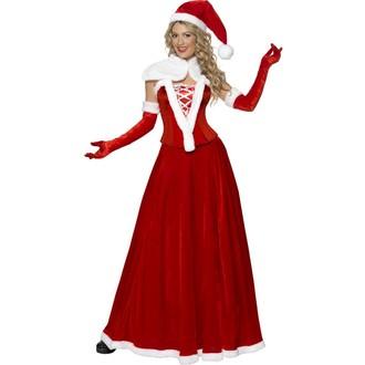 Kostýmy - Kostým Miss Santa lux