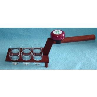 Dárečky-žertíky-hry-ptákoviny - Zednická lžíce nosič štamprlátek dřevo