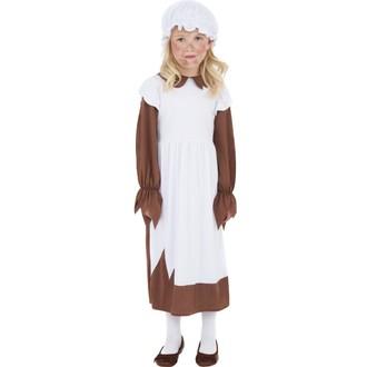 Kostýmy - Dětský kostým Viktoriánská chudá dívka