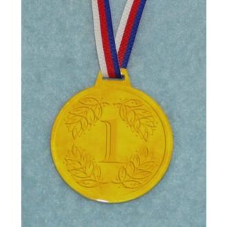 Zábavné předměty - Medaile Zlatá