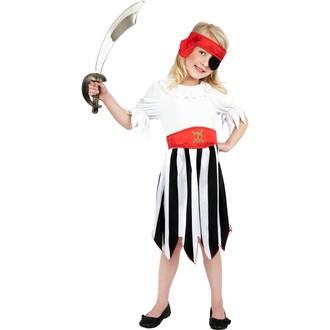 Piráti - Dětský kostým Pirátka