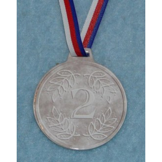 Zábavné předměty - Medaile Stříbrná