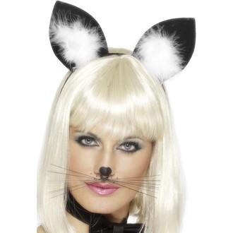 Karnevalové doplňky - Uši Kočka