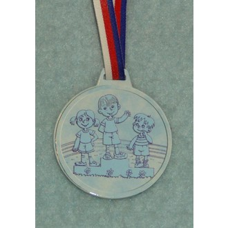 Zábavné předměty - Medaile Stupně vítězů