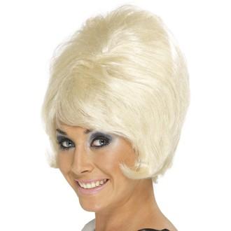 Paruky - Paruka 60s Beehive blond