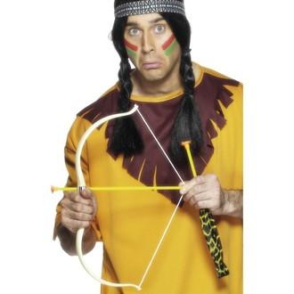 Indiáni - Indiánský luk 54 cm se 3 šípy