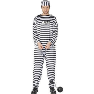 Kostýmy - Kostým Vězeň pro dospělé