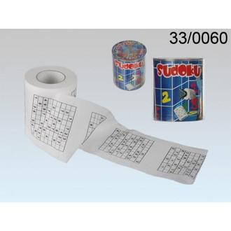 Dárečky-žertíky-hry-ptákoviny - Toaletní papír Sudoku