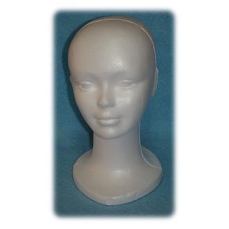 Paruky - Polystyrenová hlava