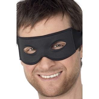 Masky - Škraboška Bandita černá