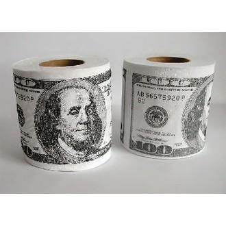 Dárečky-žertíky-hry-ptákoviny - Toaletní papír Dolary