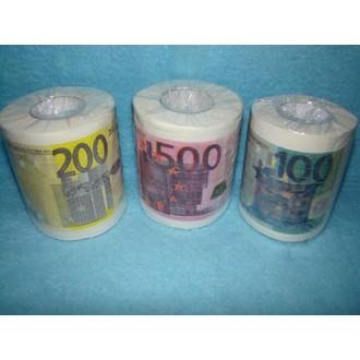 Dárečky-žertíky-hry-ptákoviny - Toaletní papír Euro