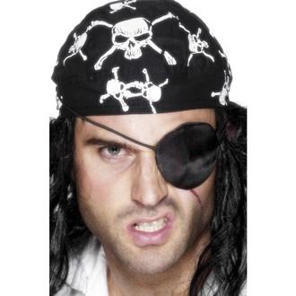 Karnevalové doplňky - Pirátská páska přes oko satén