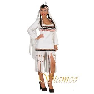 Indiáni - Kostým Bílá indiánka
