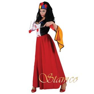 Povolání, řemesla, profese - Dámský kostým Královna