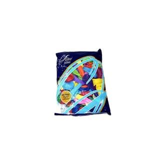Karnevalové doplňky - Balónek 26 cm (mix barev)
