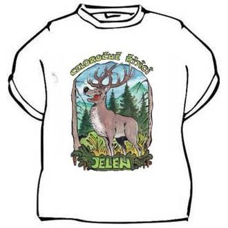 Dárečky-žertíky-hry-ptákoviny - Tričko Celoročně říjící jelen