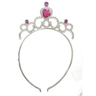 Princezny-Víly - Čelenka pro princezny růžová