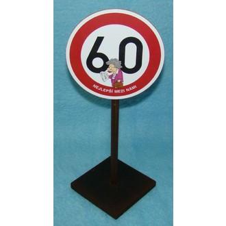 Zábavné předměty - Značka 60 Nejlepší mezi námi (žena)