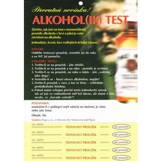 Dárečky-žertíky-hry-ptákoviny - Alkohol(ik) test