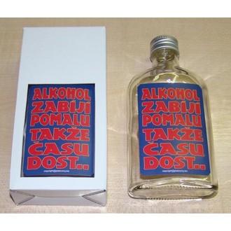 Zábavné předměty - Skleněná placačka Alkohol zabíjí pomalu