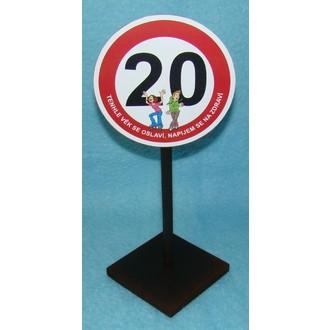 Dárečky-žertíky-hry-ptákoviny - Značka 20 Tenhle věk se oslaví