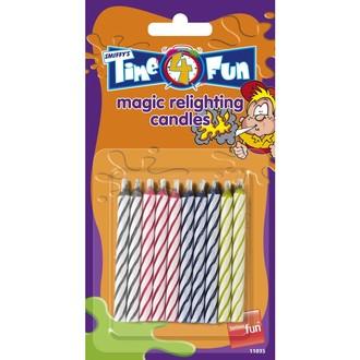 Zábavné předměty - Nesfouknutelné svíčky