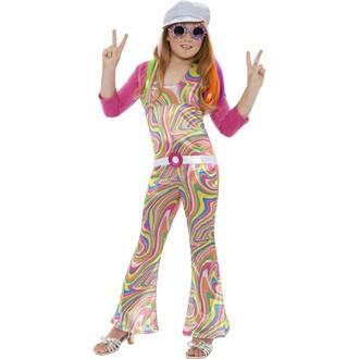 Hippie - Dětský kostým Hippie