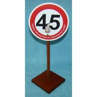 Dárečky-žertíky-hry-ptákoviny - Značka 45 Pro muže Teprve teď nastane