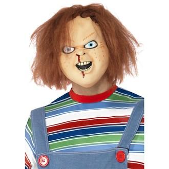 Halloween, strašidelné kostýmy - Maska panenka Chucky