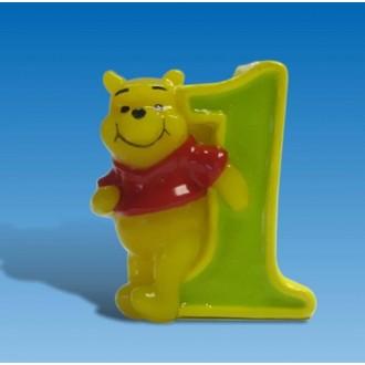 Karnevalové doplňky - Svíčka Medvídek Pú