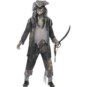 Piráti - Pánský kostým Duch piráta