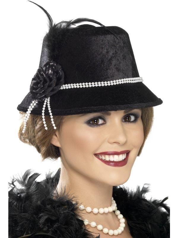 Charleston klobouk levně - Maxi-karneval.cz 51e7666fa9